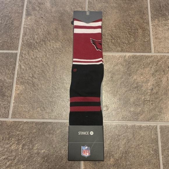 STANCE NFL Arizona Cardinals Logo Socks Large